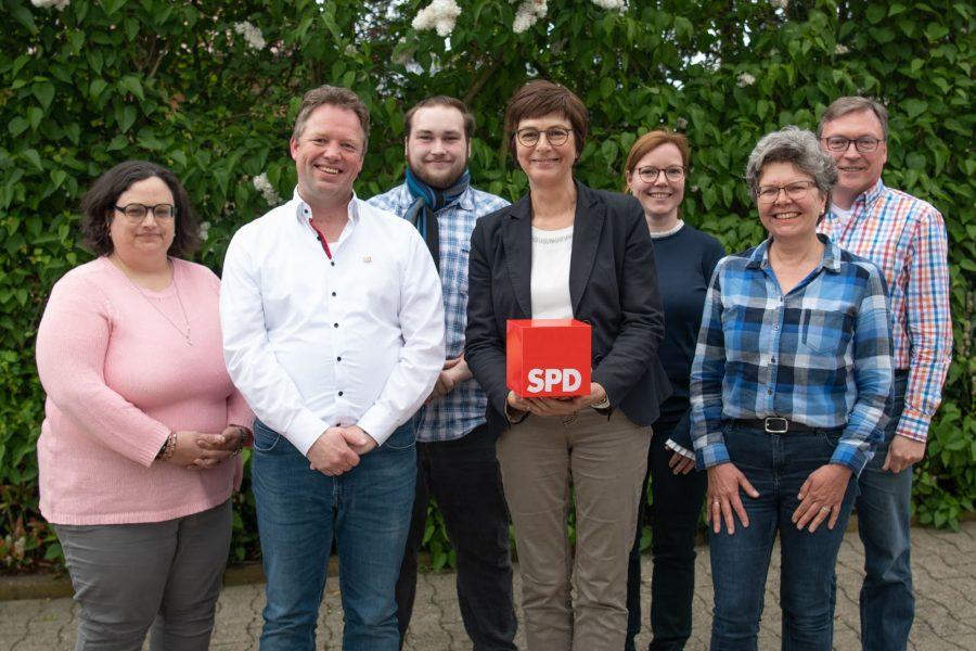 Vorstand SPD Drensteinfurt